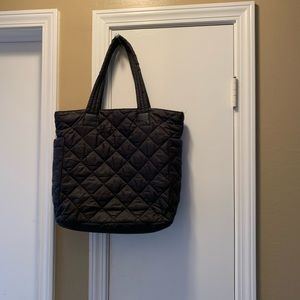 Brass Plum (Nordstrom) quilted tote bag
